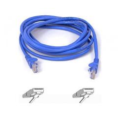 Belkin Components Cat6 Patch Cable Rj45m/rj45m 15ft Blue (A3L980-15-BLU-S)