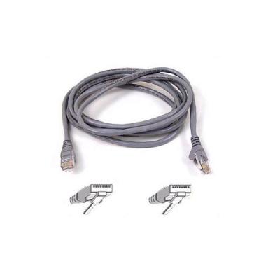 Belkin Components Cat6 Patch Cable Rj45m/rj45m 30ft Gray (A3L980-30-S)