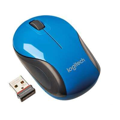 Logitech Wireless Mini Mouse M187 - Blue (910-002728)