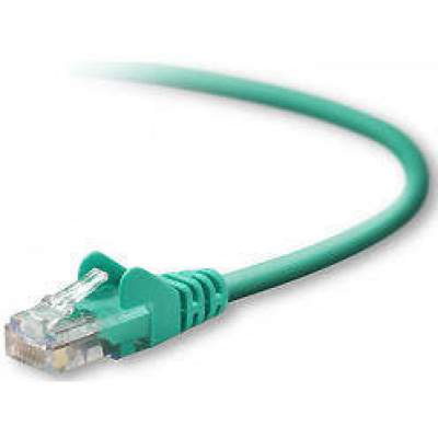 Belkin Components 2ft Cat5e Snagless Patch Cable Green (A3L791-02-GRN-S)