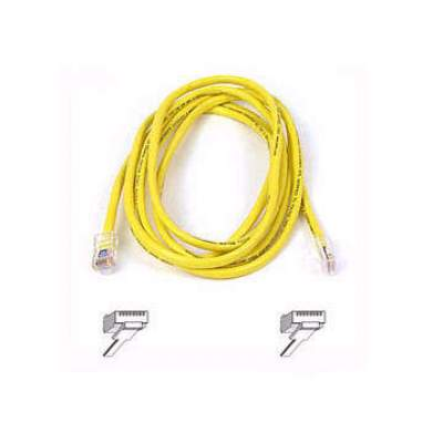Belkin Components Cat5e Patch Cable (A3L791-12-YLW)