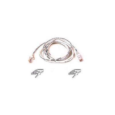 Belkin Components Cat6 Patch Cable Rj45m/rj45m 5ft White (A3L980-05-WHT-S)