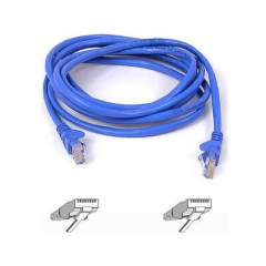Belkin Components Cat6 Patch Cable Rj45m/rj45m 100ft Blue (A3L980-100-BLUS)