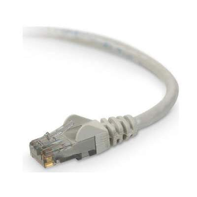 Belkin Components 20ft Cat6 Snagless Patch Cable Gray (A3L980-20-S)