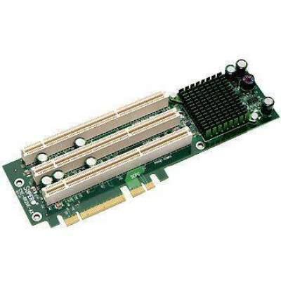 Supermicro Computer 3-slot Pci-e To Pci-x Active Riser Card (CSE-RR2UE-AX)