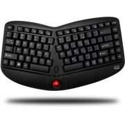 Adesso Wireless Ergo Mini Trackball Keyboard (WKB-3150UB)