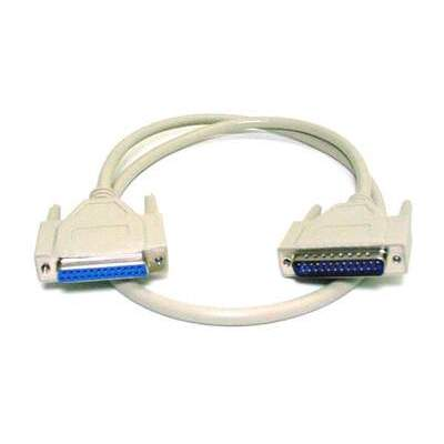 Monoprice Db25 M/f Molded Cable 6ft (1592)