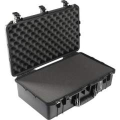 Deployable Systems Pelican 1555air Case - Black W/ Foam (015550-0000-110)