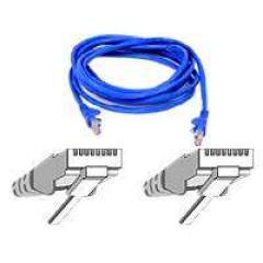 Belkin Components 4ft Cat6 Snagless Patch Cable Blue (A3L980-04-BLU-S)
