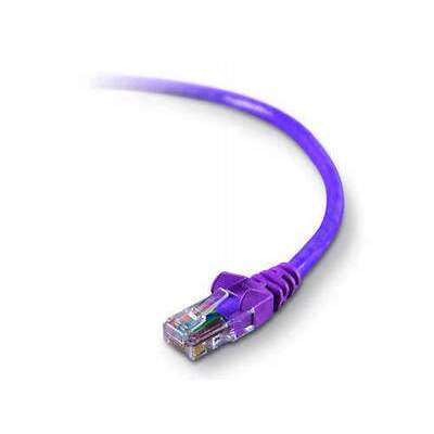 Belkin Components 6ft Cat5e Snagless Patch Cable Purple (A3L791-06-PUR-S)