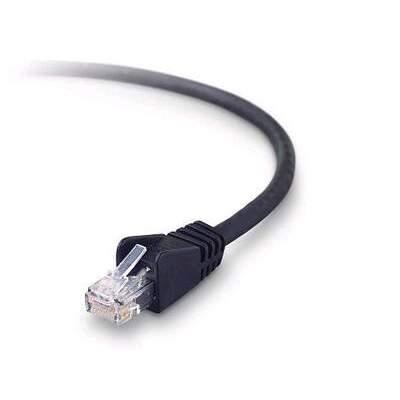 Belkin Components Cat6 Patch Cable Rj45m/rj45m 7ft Black (A3L9002-07-BLKS)