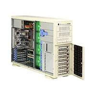 Supermicro Computer 4u,dual Amd,8xsata Hs,fdd,645w,black (AW-4020C-TB)