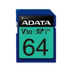 A-Data Adata 64gb Uhs-i U3 V30s Sdxc 100/75 Mb/ (ASDX64GUI3V30S-R)