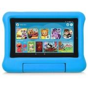 Amazon Fire 7 Kids Tablet Case (9th Gen), Blue (B07L1MWJ6C)