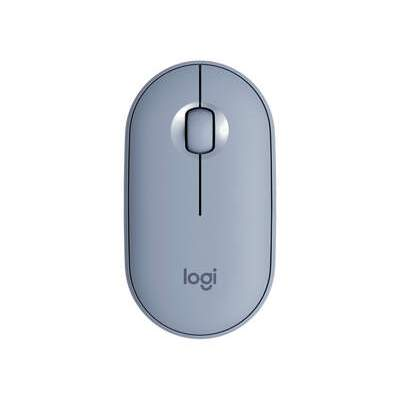 Logitech Pebble M350 Wireless Mouse (blue Grey) (910-005773)