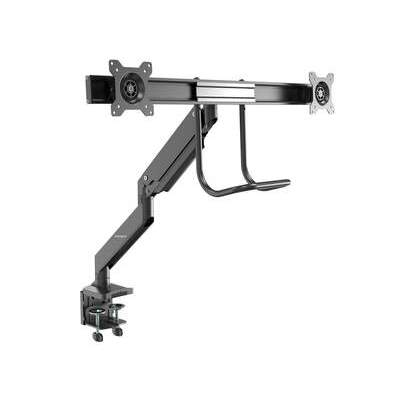 Startech.Com Desk Mount Dual Monitor Arm 32in -handle (ARMSLMBARDUO)