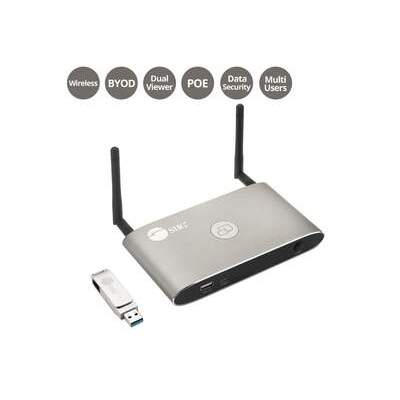 SIIG Dual View Wireless Media Presentation (CE-H25Y11-S1)