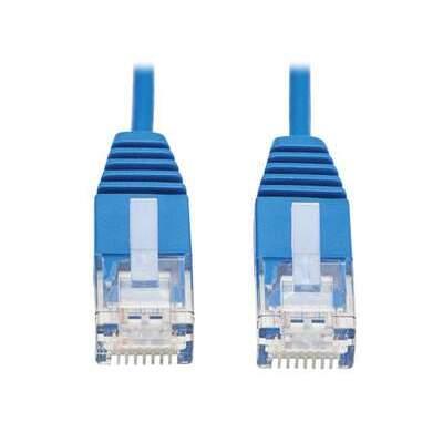 Tripp Lite Cat6a Ethernet Cable Ultra-slim Blue 6in (N261-UR6N-BL)