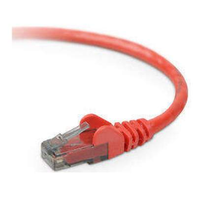 Belkin Components 3ft Cat6 Snagless Patch Cable Red (A3L980-03-RED-S)
