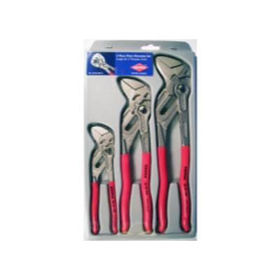KNIPEX 3 Pc Smooth Jaw Pliers (002006S2)
