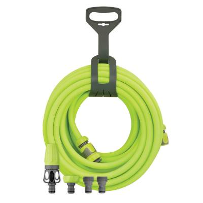 Legacy Manufacturing HFZ3835YW2 Flexzilla 3//8 In Air Hose With 1//4 In. X 35 Ft