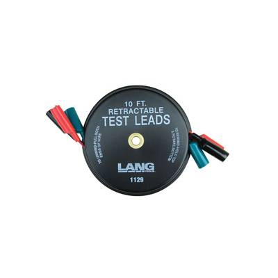 Lang Tools 1129 Retractable Test Leads 3 Leads X 10 Ft.