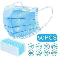 Disposable 3 Ply Face Mask Box of 50 (MTFM1)