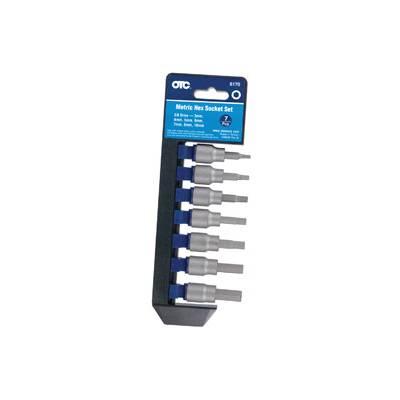 OTC Tools & Equipment 7pc Metric Hex Bit Set (6170)