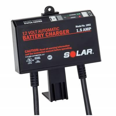 Solar 1.5 Amp On-board 12v Charger (1002)