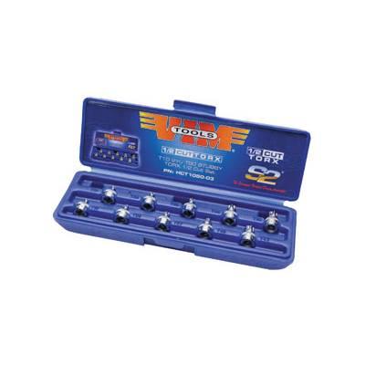 VIM Tools 10pc 1/2 Cut Torx Driver Set (HCT1050)