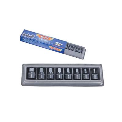 VIM Tools Met Stubby 8 Pc Set 6mm-19mm (VM600)