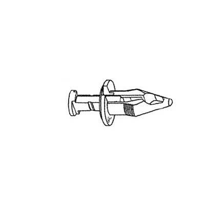 W & E Fasteners Plastic Push Rivet Bumper Cvr (3023)