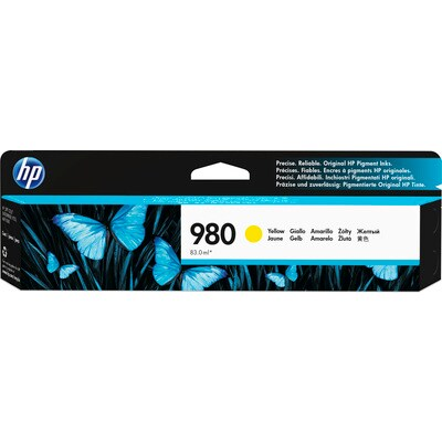 HP 980 Yellow Original Ink Cartridge for US Government (HEWD8J09AG)